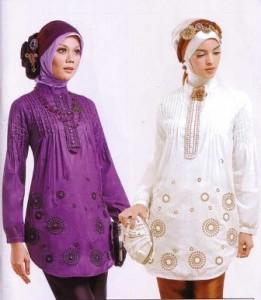 Trend Baju Kebaya Wanita Muslim Gambar Busana Muslim Ke