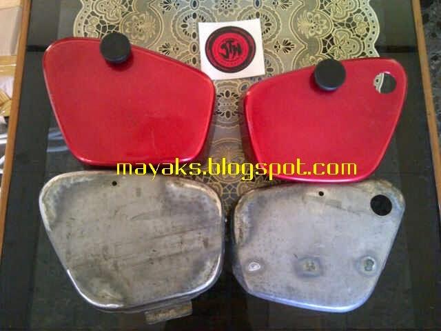 side cover honda C50, side cover, modifikasi, honda C50 pispot