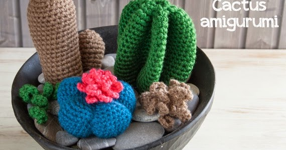 Amigurumi Cactus : Amigurumi cactus a gift for my mom djonesgirlz flickr