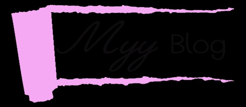 ^◕‿◕^  MYY Blog ^◕‿◕^