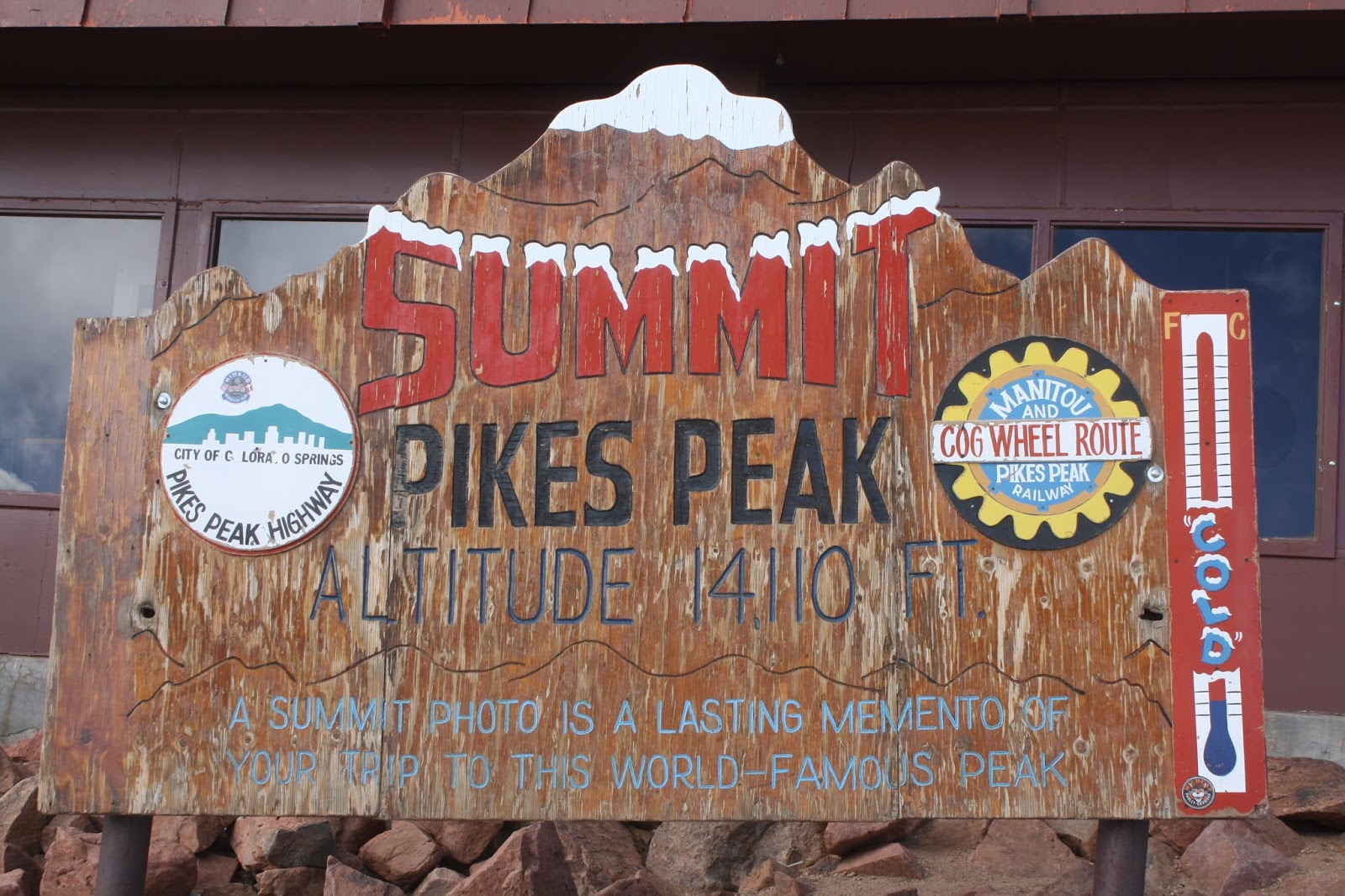 McCash Family blog: Pikes Peak Summit {Fall 2015}