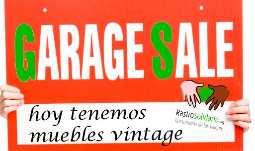 Muebles vintage segunda mano y ocasi n rastrosolidario ongd for Muebles vintage segunda mano