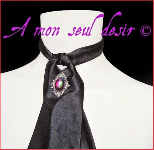 Pic à Cravate Lavallière Gothique Victorien Bijou Homme Dandy Gentleman Gothic Goth Victorian Pin Tie