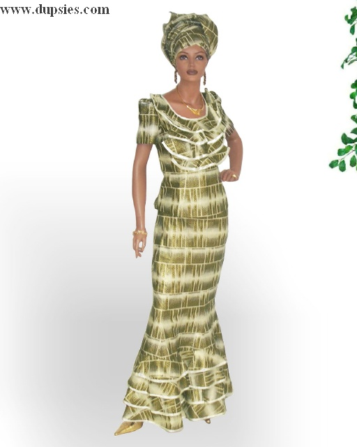 Ethnic African Lace Dresses