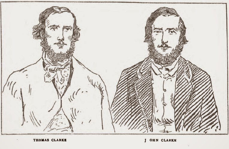 Bushrangers Thomas Clarke and John Clarke