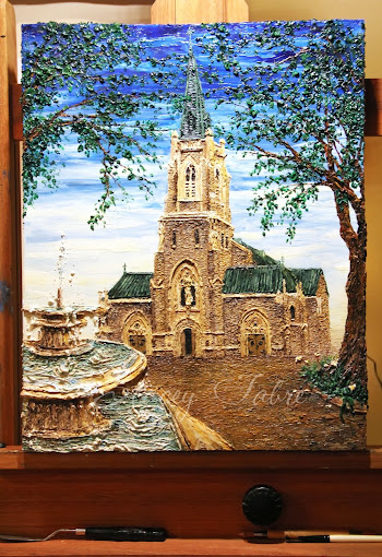Progress on St. Francis Church-Houma, LA