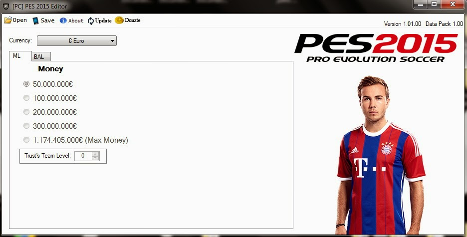 [PC] PES 2015 Save Editor v1.0 by extream87