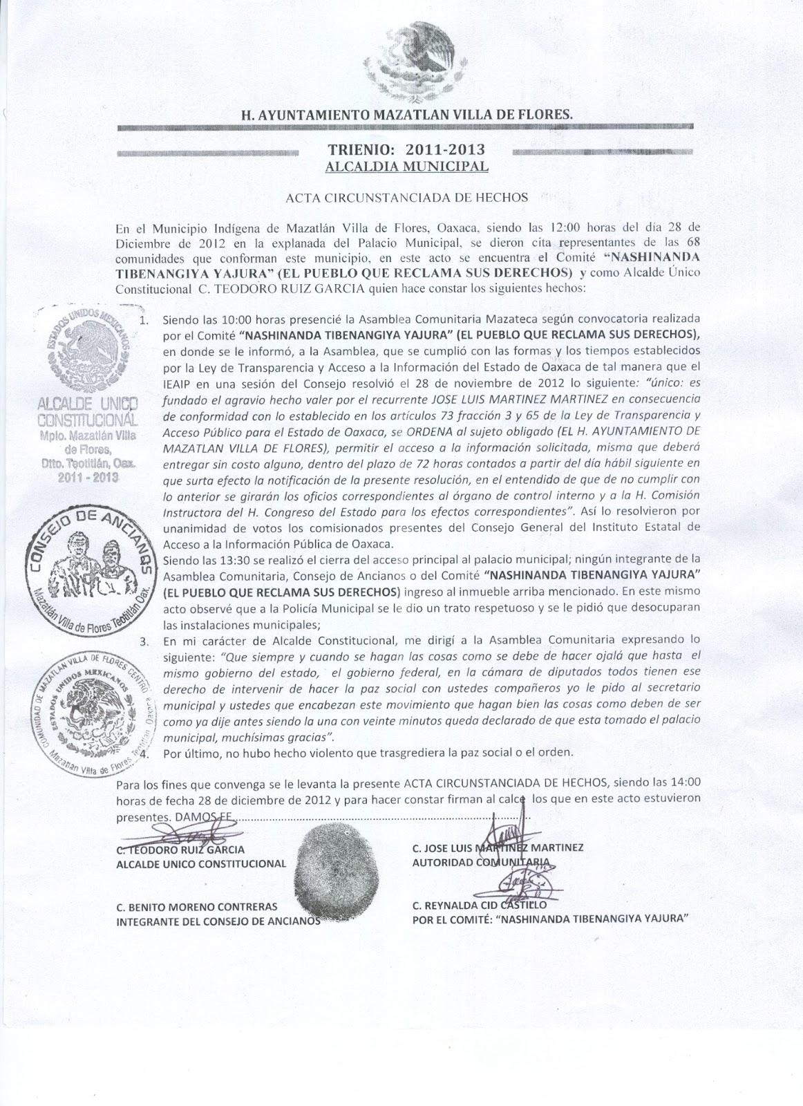 Acta Administrativa De Hechos | oficina del abogado general ppt descargar, guia tecnica ...