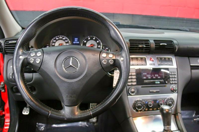 Mercedes Benz W203 C55 Amg Mars Red Benztuning