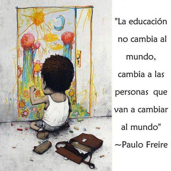 LA EDUCACIÓN COMO PRÁCTICA DE LIBERTAD