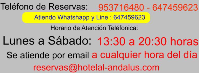 Hotel Al Ándalus, Hotel en Cazorla Comarca