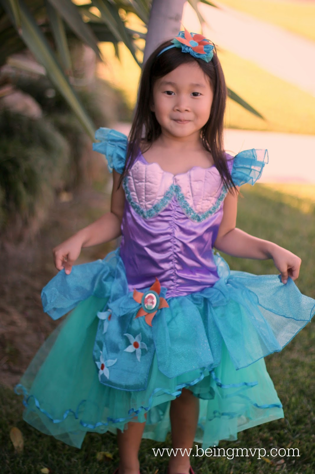 Disney Ariel Little Mermaid Costume Review  sc 1 st  being MVP & being MVP: Disney Ariel Little Mermaid Costume Review