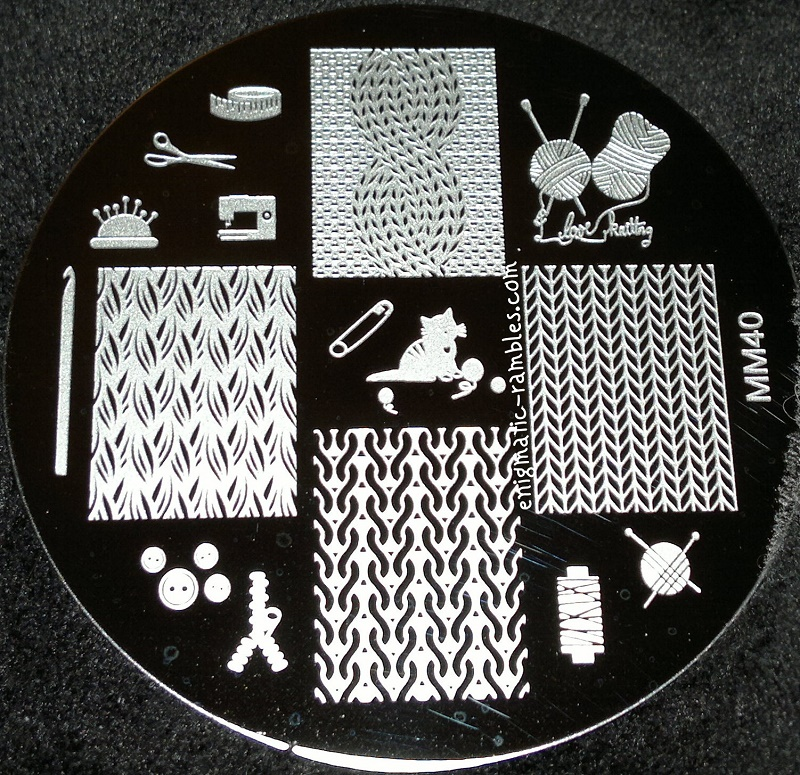 Messy-Mansion-40-MM40-Knit-Wool-Sweater-Jumper-Stamping-Plate-review