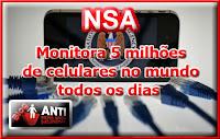 NSA+celulares A NSA Utiliza Cookies do Google Para Identificar Alvos Para Espionagem