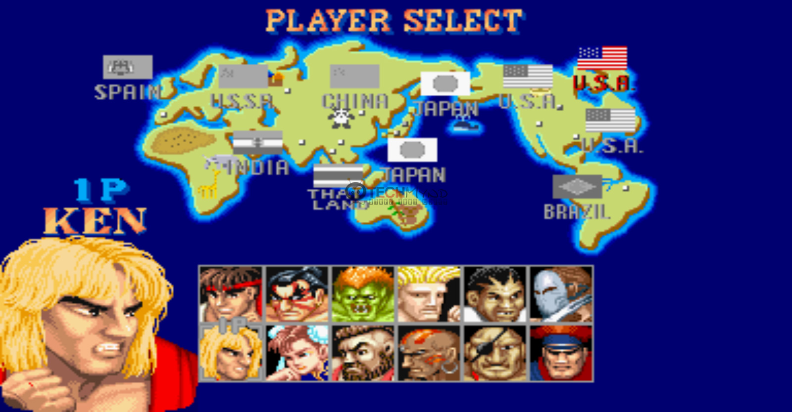 play online game street fighter 2