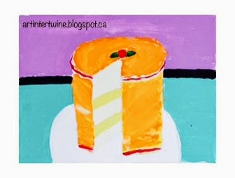 Art Intertwine - Wayne Thiebaud Cake Paintings For Kids
