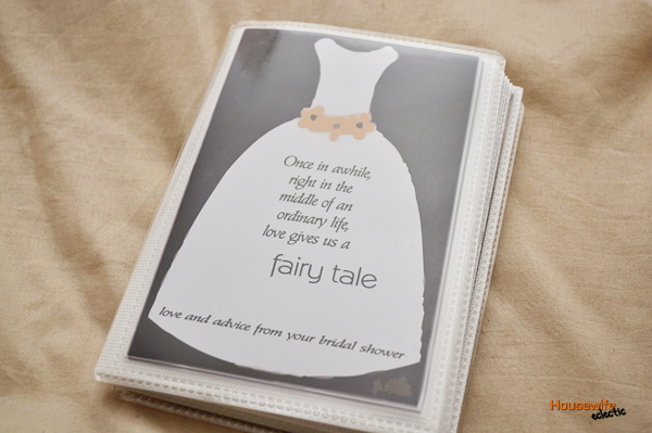 a memorable bridal shower gift with free printable
