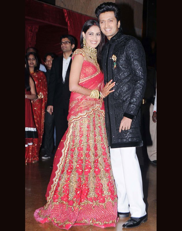 Riteish Deshmukh Genelia DSouzas Wedding Picture And Photos