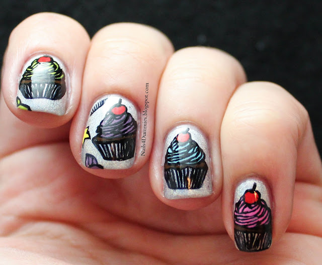 Nails4Dummies - Cheeky Cupcakes!