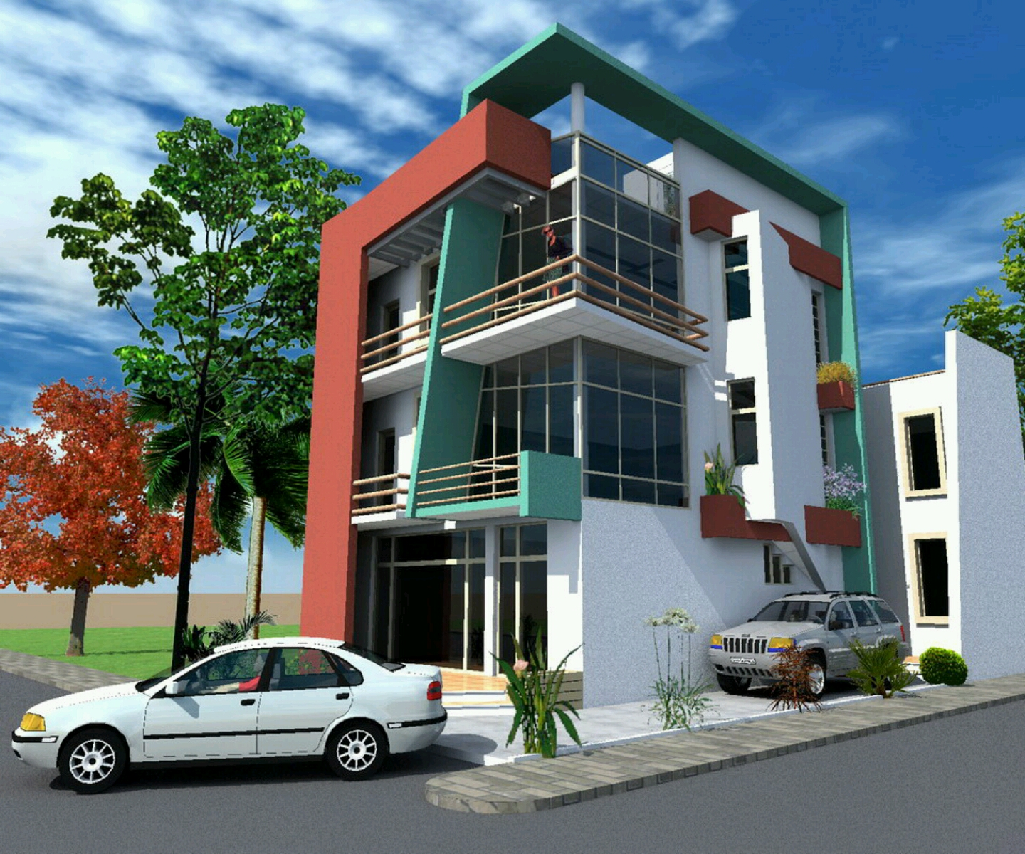 New home designs latest modern bungalows exterior for Exterior design photos