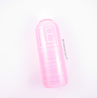 lillian eve nail polish remover - the beauty puff