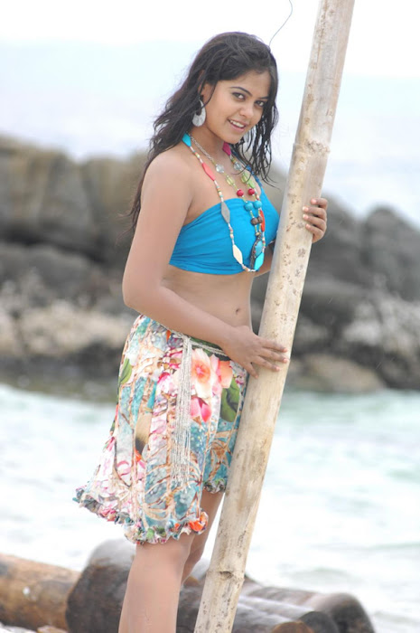 bindu madhavi in spicy beach song photo gallery