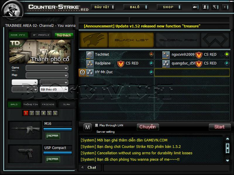 Crossfire Offline versão 2012 CS-Red-2012-v5.2.7