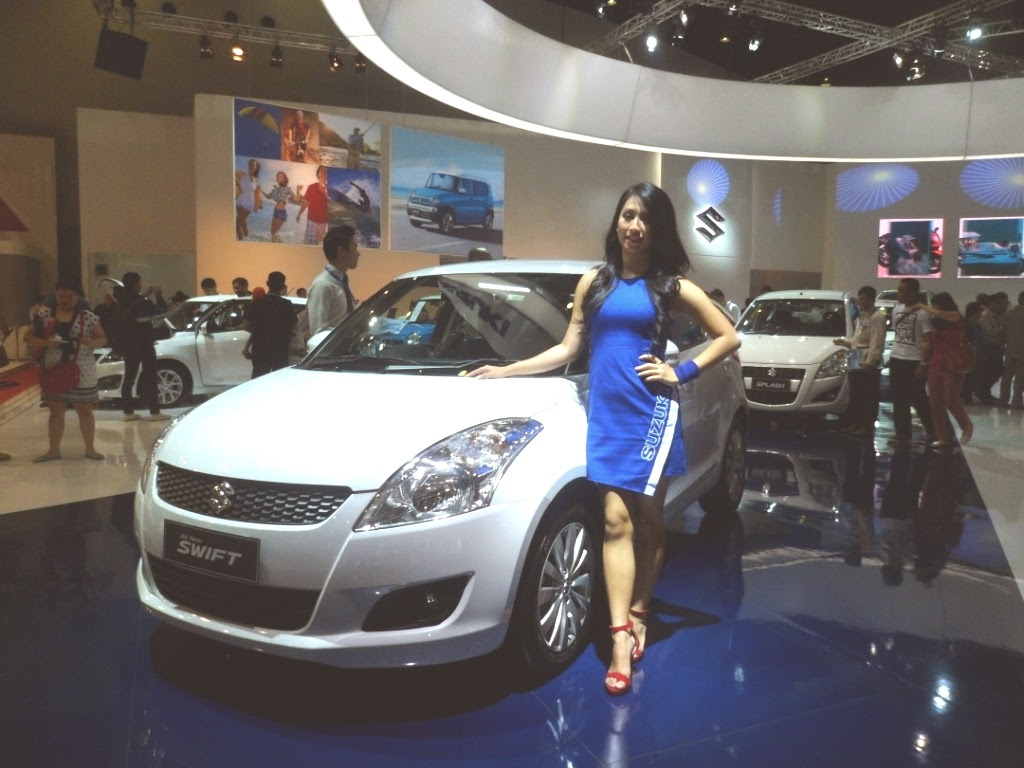 SPG Suzuki New Swift IIMS 2014