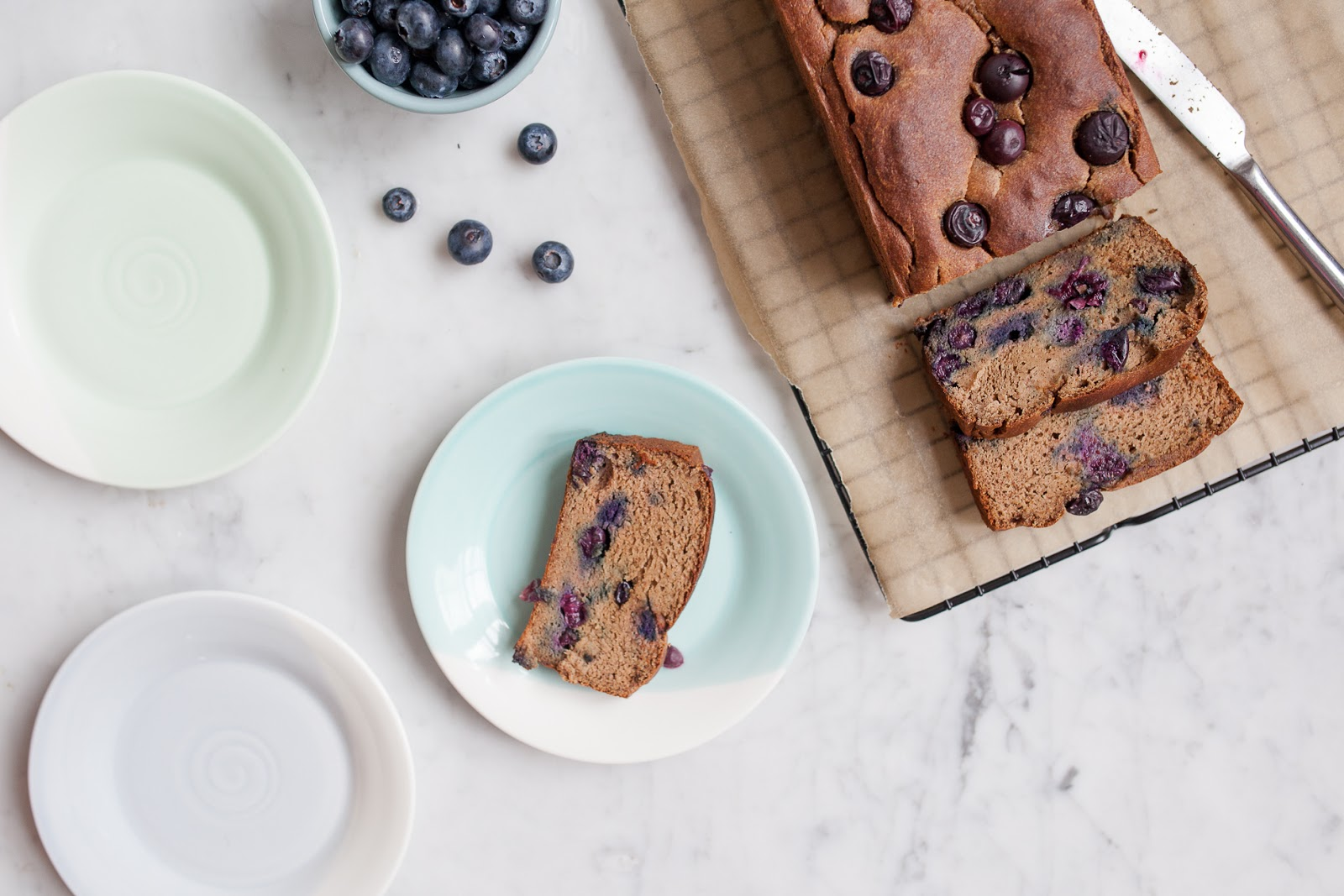 Blueberry Banana Loaf - GF/Paleo