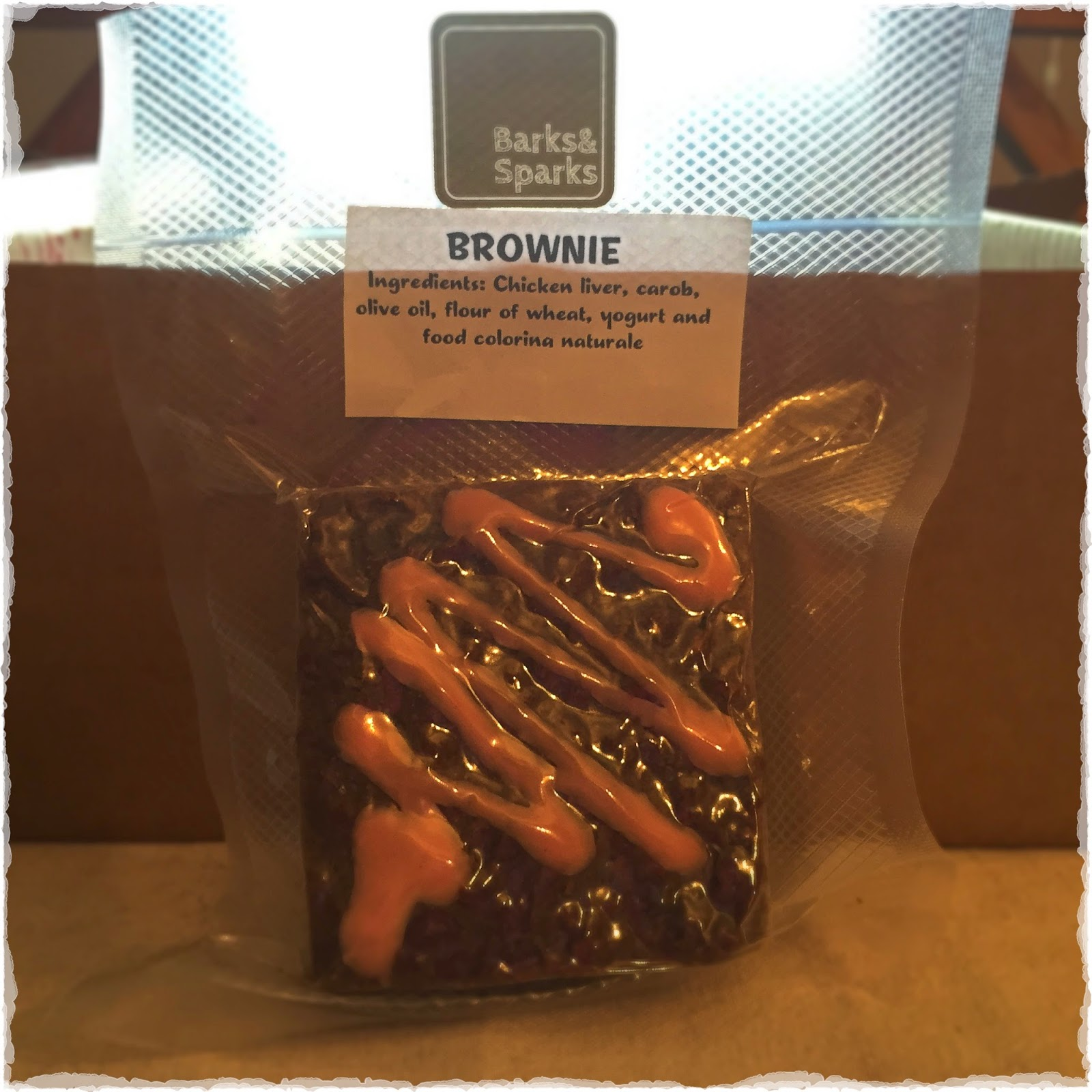 Photo of Barks & Sparks brownie