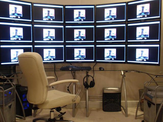 Как сделать разрешение рабочего стола больше чем у монитора