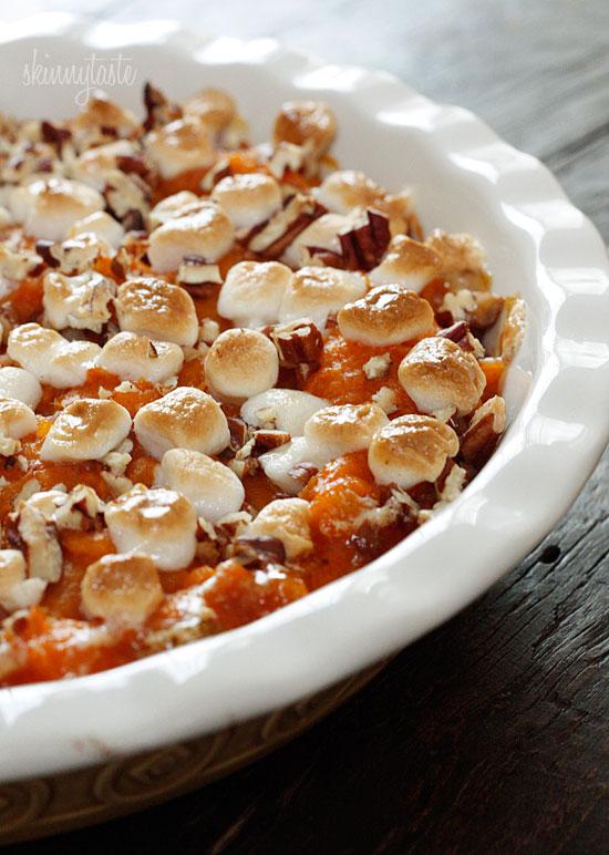 Sweet Potato Casserole | Skinnytaste