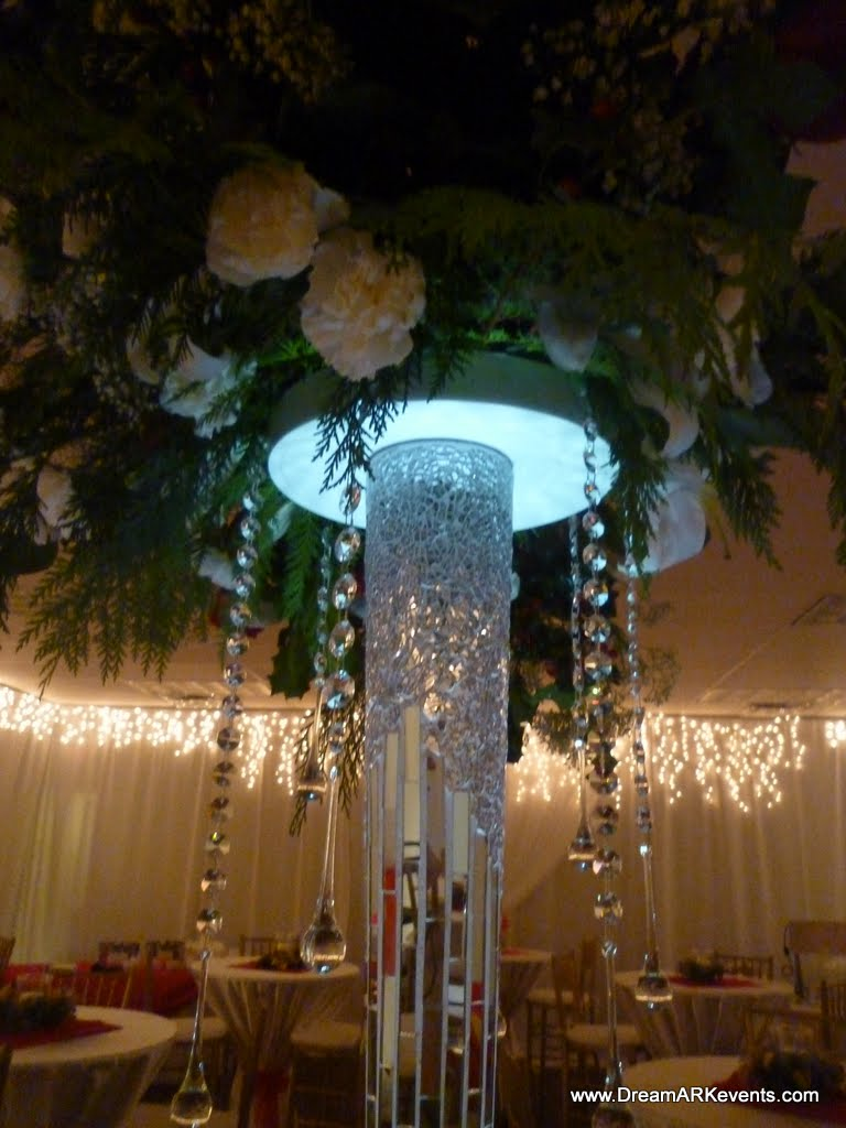 Dreamark events holiday event decoration with drape
