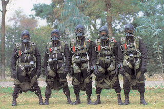 Pakistan Army SSG troops in HALO gear