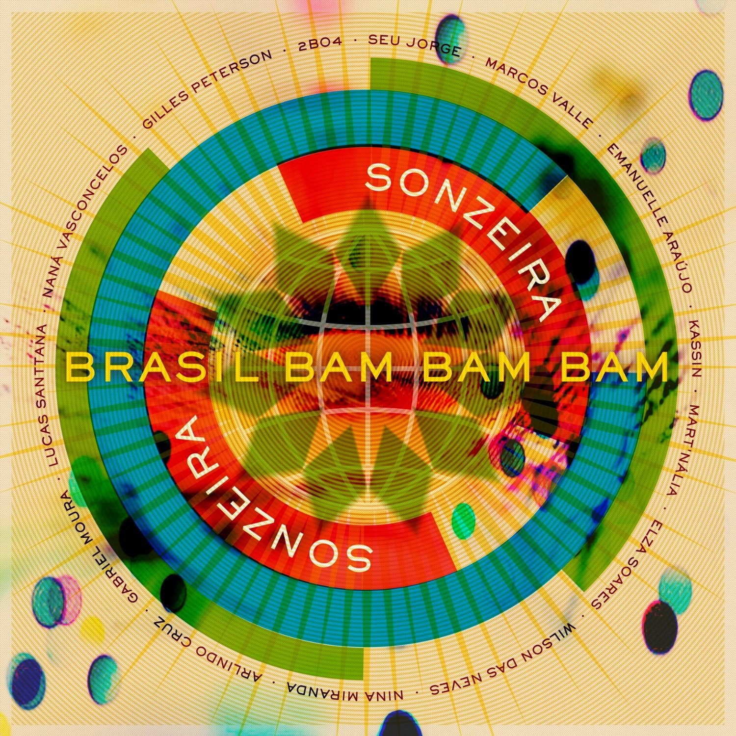 Gilles Peterson presents Sonzeira / Brazil Bam Bam Bam (Talkin' Loud)