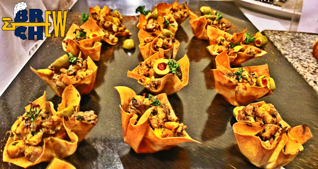 IIHM Young Chef Olympiad, Chicken & Corn Filo Cups