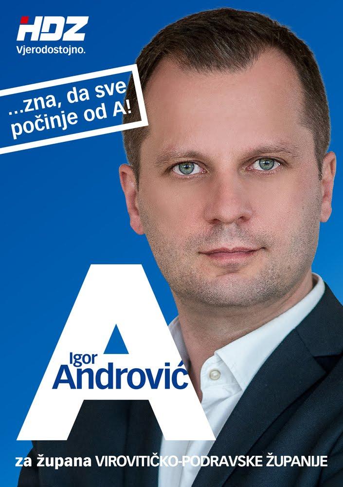 Igor Andrović za župana Virovitičko-podravske županije