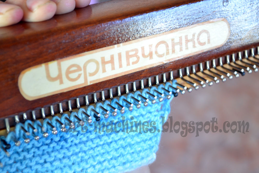 Вязание на машинке чернивчанка мастер класс 24