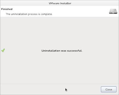 vmware remove