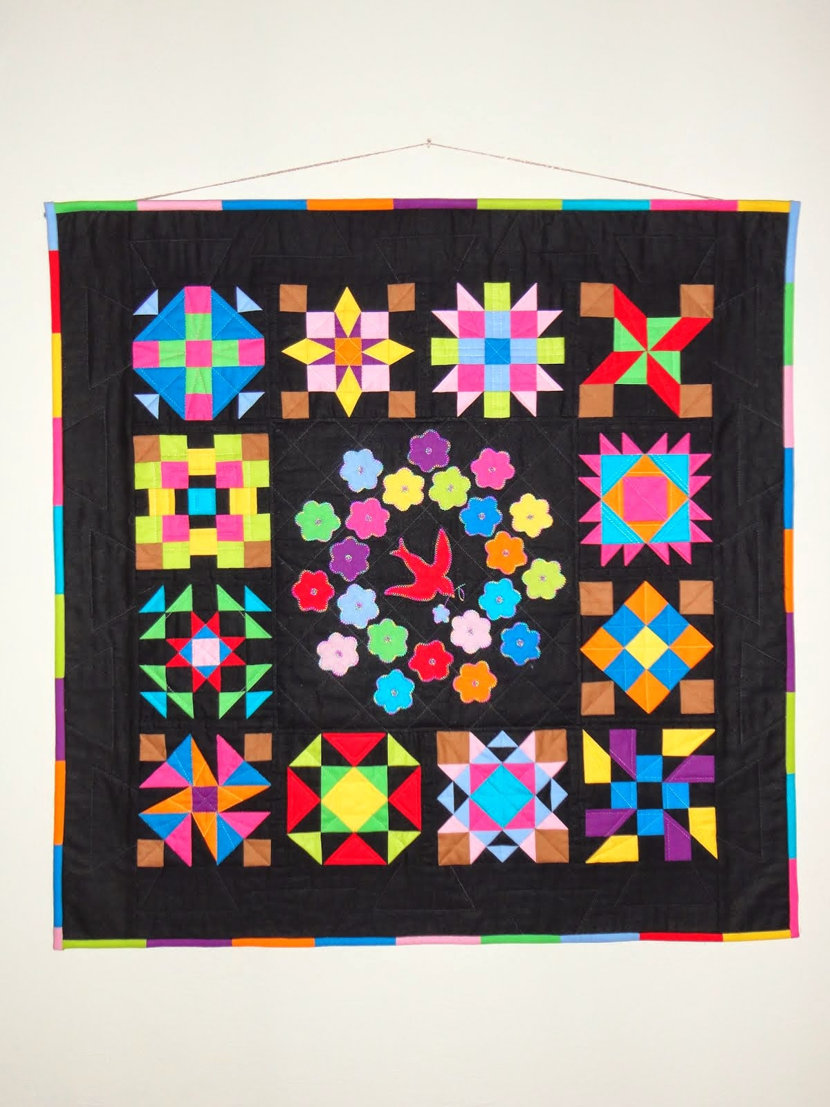 BRIGHT COLOR QUILT