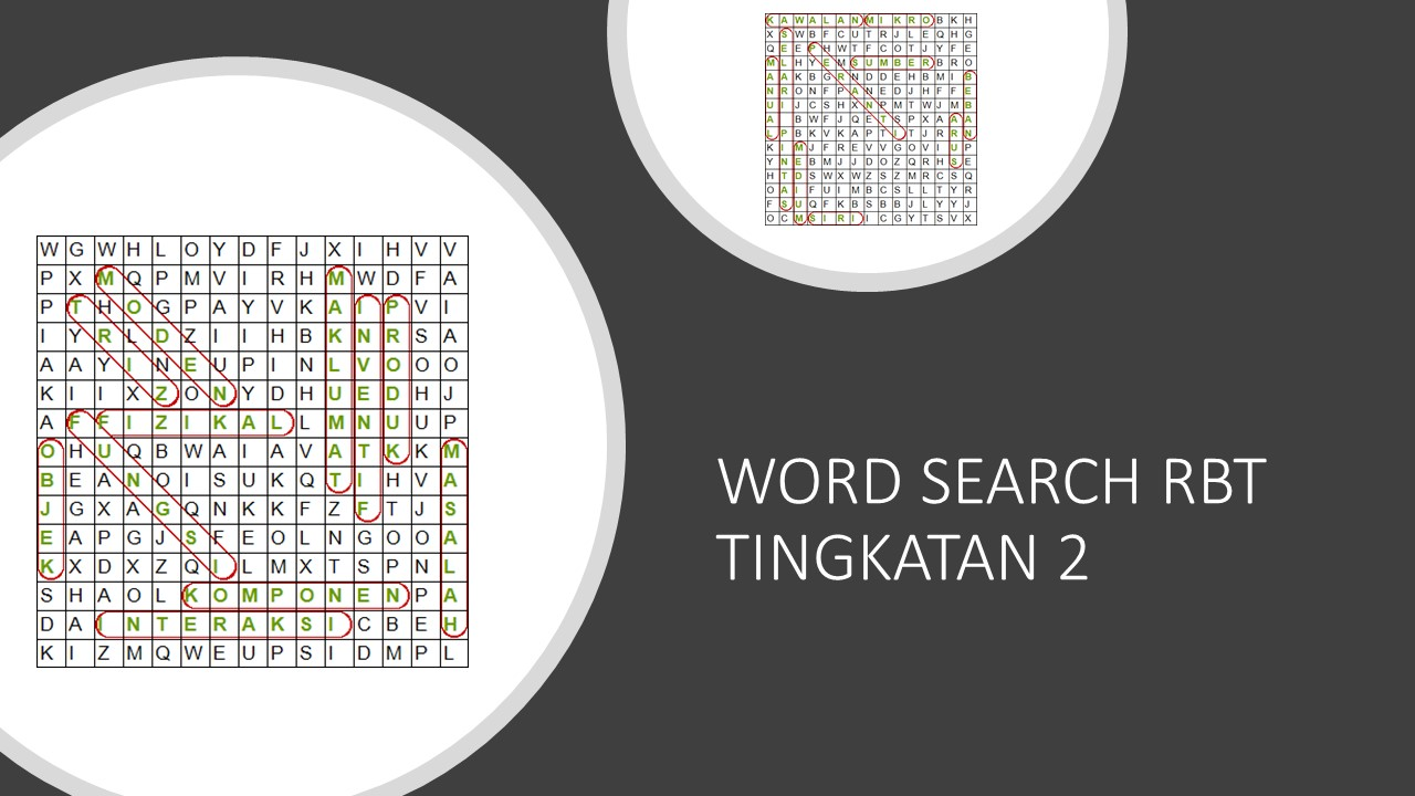 WORD SEARCH RBT TING 2
