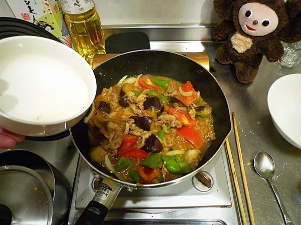 夏野菜の和風カレーの作り方(4)