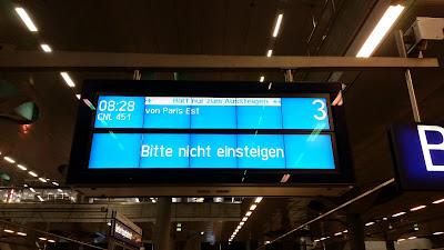 Bahnverkehr: Abschied vom Nachtzug Paris – Berlin und zurück