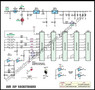 AVR ISP SocketBoard