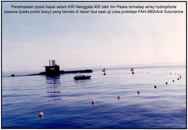 Prototipe Teknologi Anti Kapal Selam Berhasil di Uji Coba
