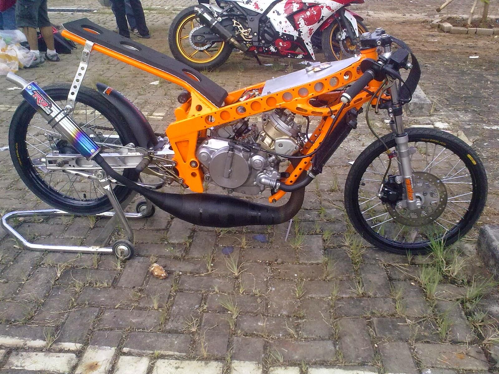 ide modifikasi motor king drag