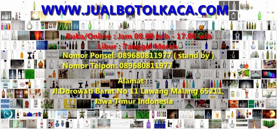 Jual BOTOL KACA Indonesia Murah dan Terpercaya - Jualbotolkaca.com