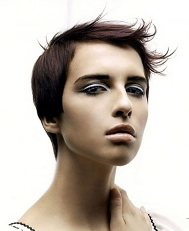 Chic Super-Short Hair Style 2013