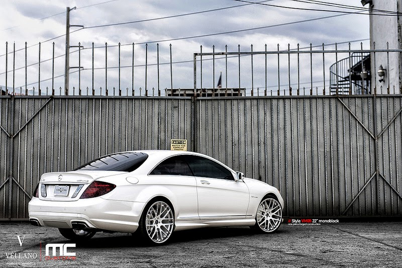 mercedes benz c216 cl63 amg on vellano wheels benztuning. Black Bedroom Furniture Sets. Home Design Ideas