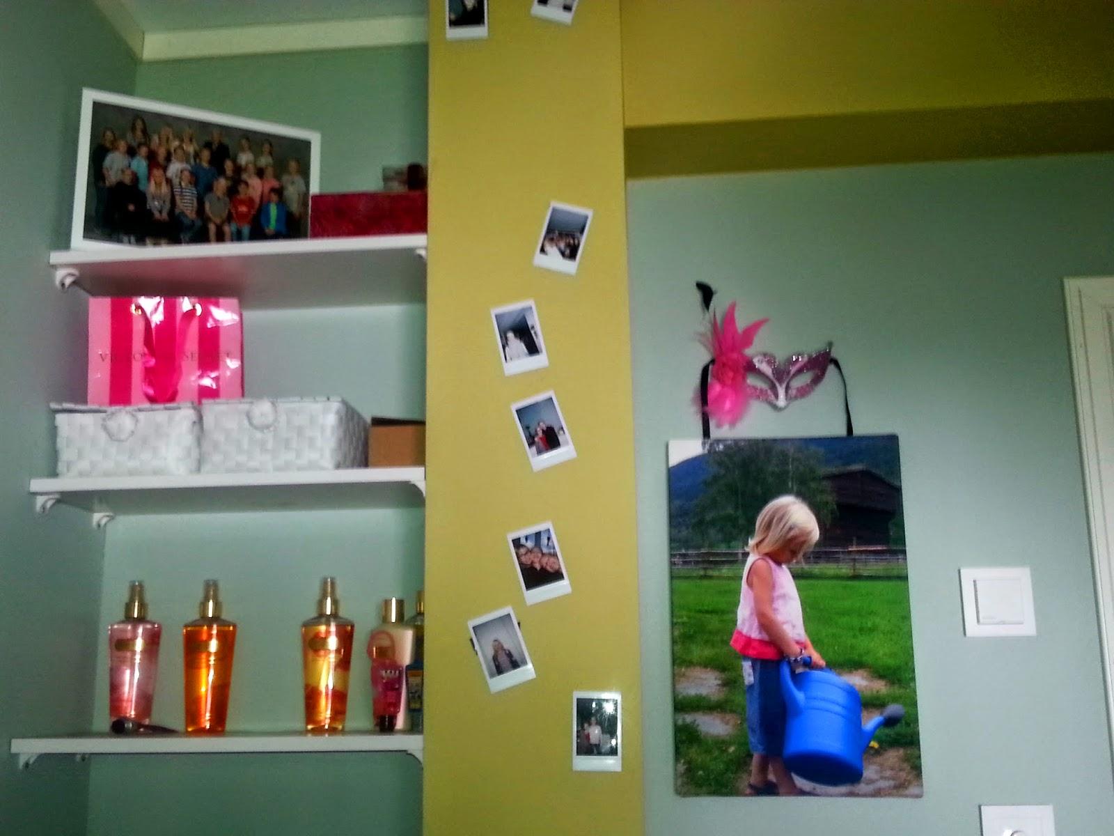Wall of fame på jenterommet!